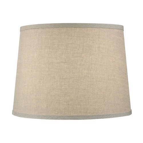 Dolan Designs Lighting Beige Drum Lamp Shade with Spider Assembly 140145