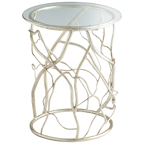 Cyan Design Cyan Design Twisted Love Silver Leaf Table 06787