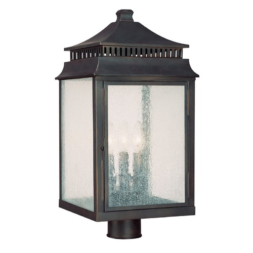Capital Lighting Capital Lighting Sutter Creek Med. Bronze Post Light 9117OB