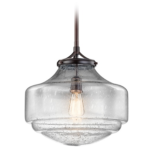 Kichler Lighting Kichler Lighting Keller Pendant Light with Bowl / Dome Shade 43564SBR