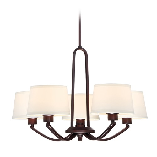 Designers Fountain Lighting Designers Fountain Studio Satin Bronze Chandelier 88585-SB