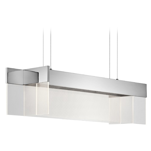 Elan Lighting Elan Lighting Geo Chrome LED Island Light 83732