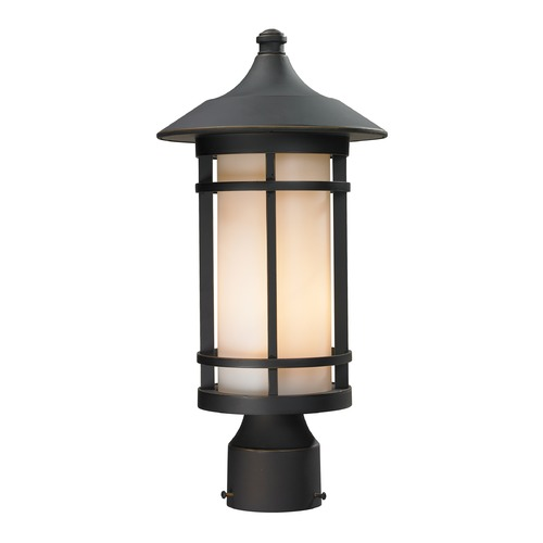 Z-Lite Z-Lite Woodland Oil Rubbed Bronze Post Light 528PHM-ORB