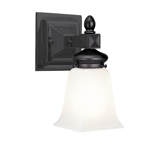 Hudson Valley Lighting Sconce with White Glass in Old Bronze Finish 2821-OB