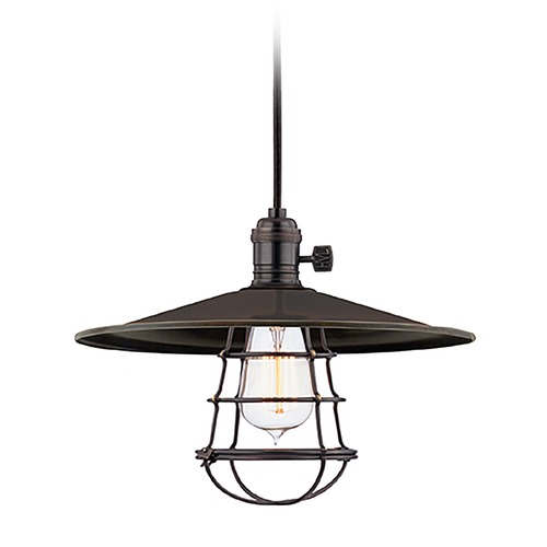 Hudson Valley Lighting Mini-Pendant Light 8001-OB-MS1-WG