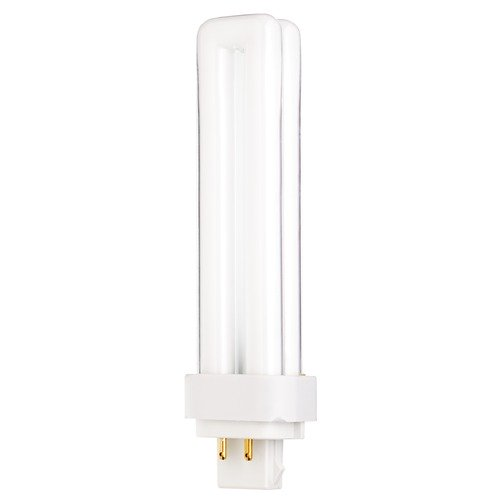Satco Lighting Compact Fluorescent Quad Tube Light Bulb 4 Pin Base 3000K by Satco Lighting S8334