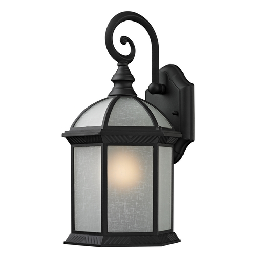Design Classics Lighting Traditional Black Hexagon Outdoor Wall Light  5271 BK
