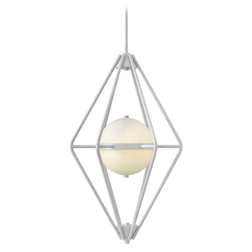 Fredrick Ramond Frederick Ramond Spectra Cloud Pendant Light with Globe Shade FR37554CLD