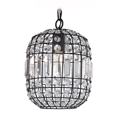 Sterling Lighting Crystal Mini Pendant 122-013
