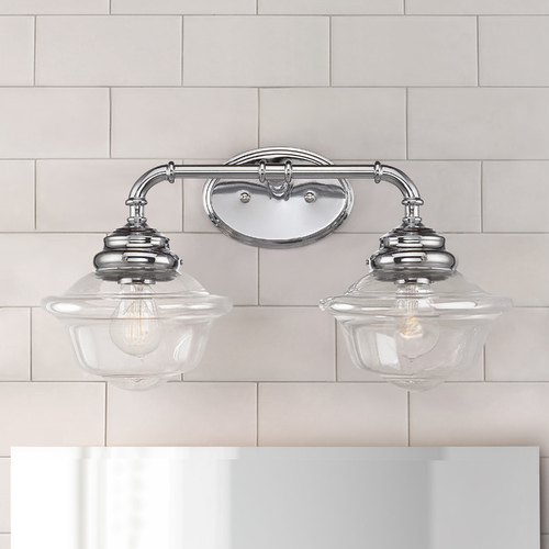Savoy House Savoy House Lighting Fairfield Chrome Bathroom Light 8-393-2-11