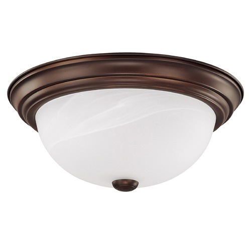 Capital Lighting Capital Lighting Burnished Bronze Flushmount Light 2713BB