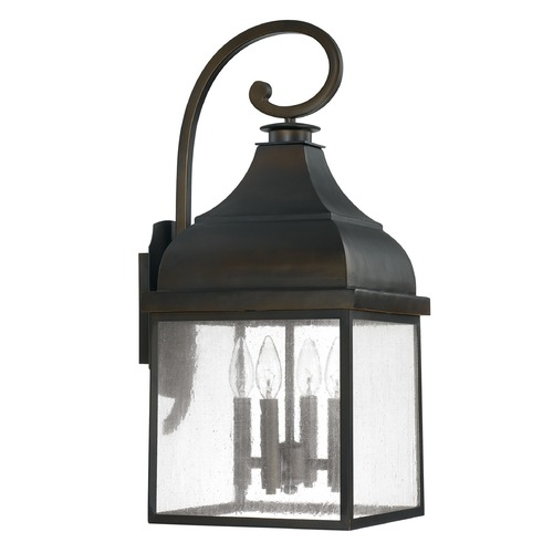 Capital Lighting Capital Lighting Westridge Old Bronze Outdoor Wall Light 9643OB