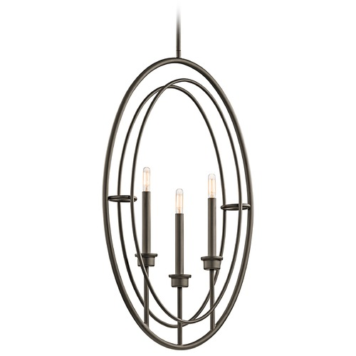 Kichler Lighting Kichler Lighting Imogen Olde Bronze Pendant Light 43731OZ
