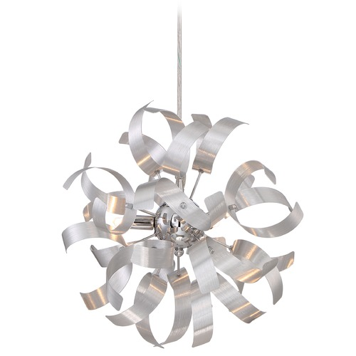 Quoizel Lighting Quoizel Ribbons Millenia Mini-Pendant Light RBN1512MN