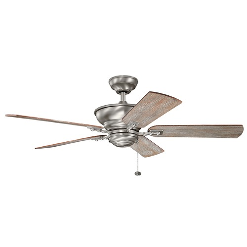 Kichler Lighting Kichler Lighting Graystone Burnished Antique Pewter Ceiling Fan Without Light 300243BAP