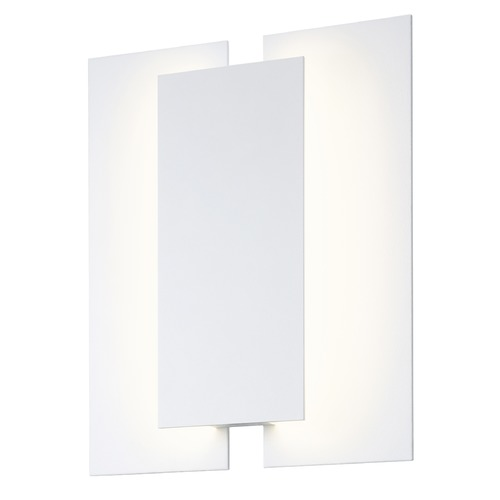 Sonneman Lighting Sonneman Batten Textured White LED Sconce 2722.98