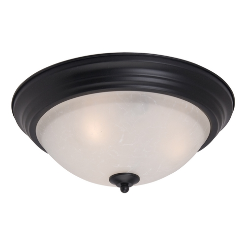 Maxim Lighting Maxim Lighting Essentials Black Flushmount Light 5841ICBK