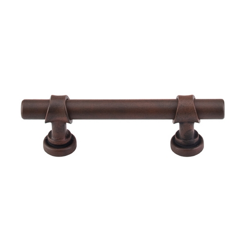 Top Knobs Hardware Cabinet Pull in Patina Rouge Finish M1751