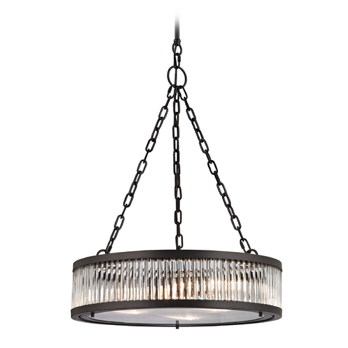 Elk Lighting Pendant Light in Oil Rubbed Bronze Finish 46135/3