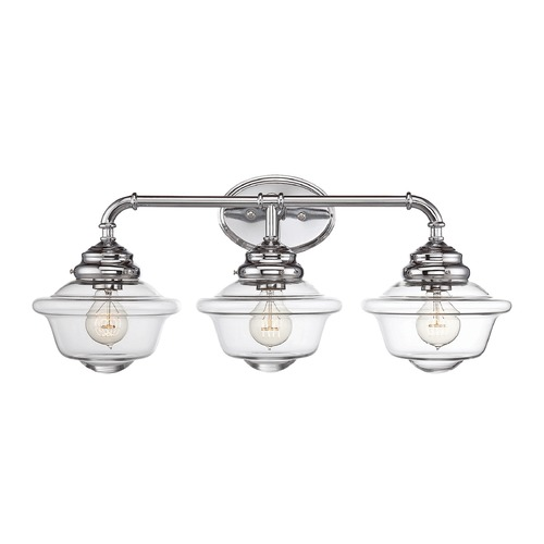 Savoy House Savoy House Lighting Fairfield Chrome Bathroom Light 8-393-3-11
