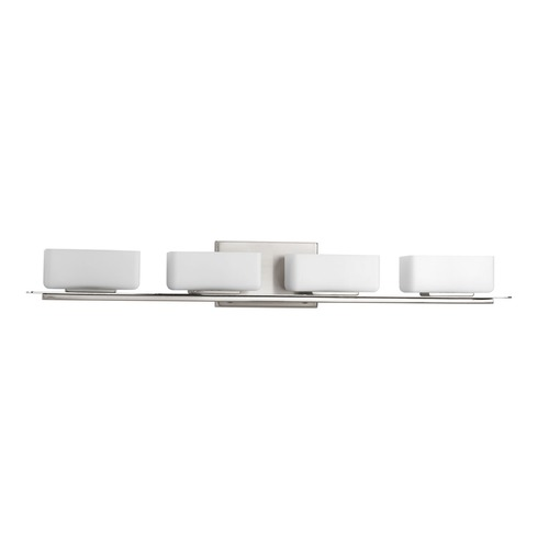 Progress Lighting Progress Lighting Rush Brushed Nickel Bathroom Light P2718-09