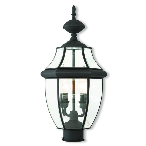 Livex Lighting Livex Lighting Monterey Black Post Light 20285-04