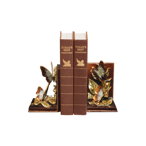 Sterling Lighting Fluttering Butterfly Decorative Bookends 91-4504
