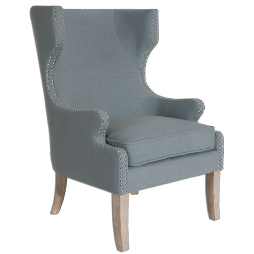 Uttermost Lighting Uttermost Graycie High Back Wing Chair 23136