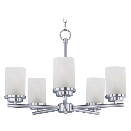 Maxim Lighting Maxim Lighting Corona Satin Nickel Chandelier 10205FTSN