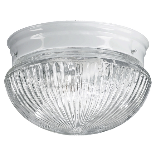 Quorum Lighting Quorum Lighting White Flushmount Light 3012-8-6