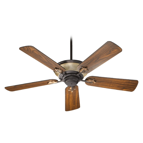 Quorum Lighting Quorum Lighting Roderick Toasted Sienna with Golden Fawn Ceiling Fan with Light 63525-44