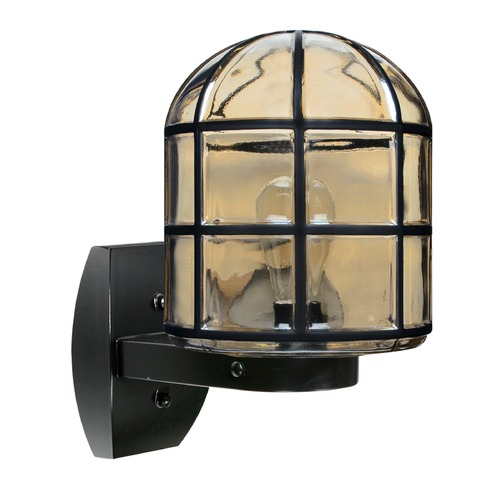 Besa Lighting Outdoor Wall Light Black Costaluz by Besa Lighting 341756-WALL