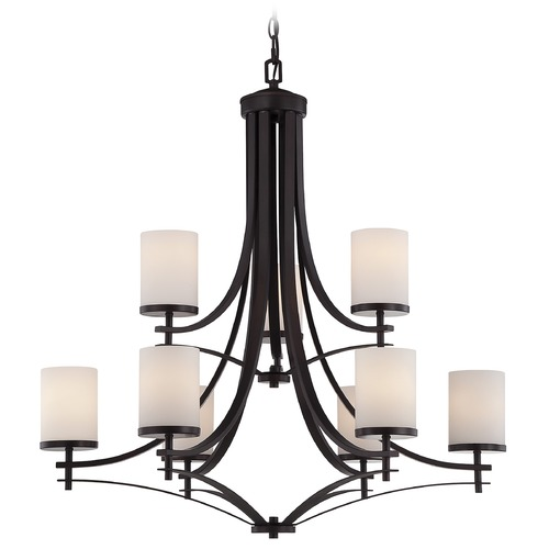 Savoy House Savoy House English Bronze Chandelier 1-331-9-13