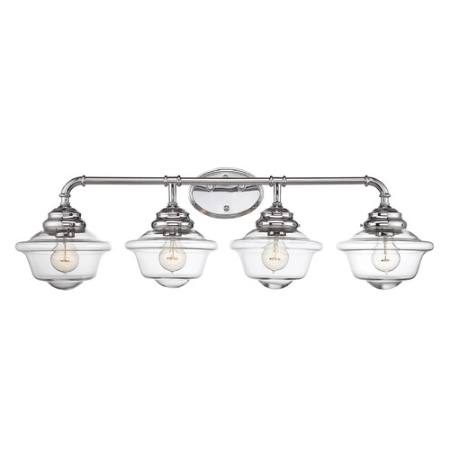 Savoy House Savoy House Lighting Fairfield Chrome Bathroom Light 8-393-4-11