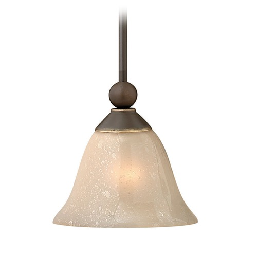 Hinkley Lighting Hinkley Lighting Bolla Olde Bronze Mini-Pendant Light with Urn Shade 4667OB-GU24