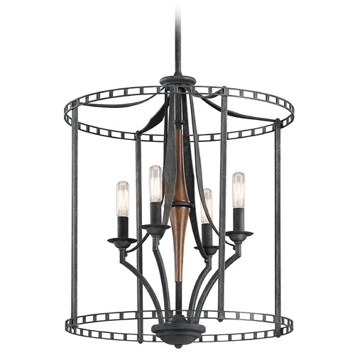 Kichler Lighting Kichler Lighting Clague Pendant Light 43420DBK