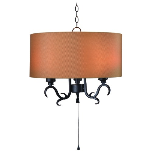 Kenroy Home Lighting Kenroy Home Clairmont Oil Rubbed Bronze Outdoor Hanging Light 93670ORB