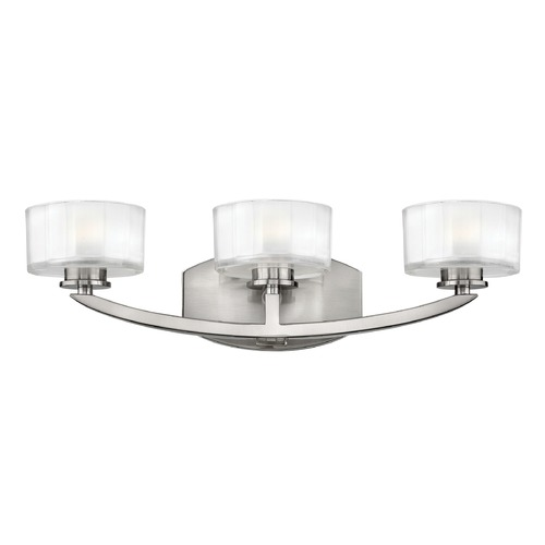 Hinkley Lighting Hinkley Lighting Meridian Brushed Nickel LED Bathroom Light 5593BN-LED
