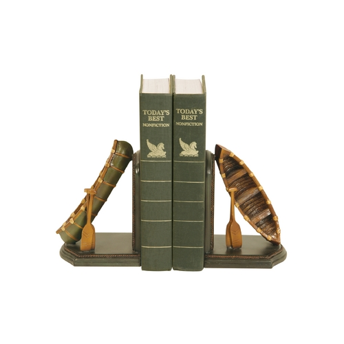 Sterling Lighting Camp Canoes Decorative Bookends 91-4619