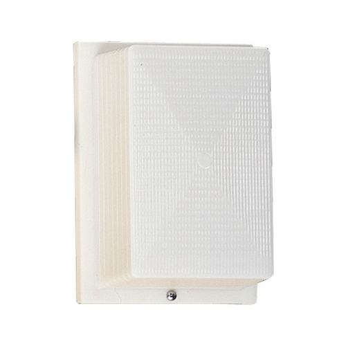 Progress Lighting Progress Outdoor Wall Light with White in White Finish P5694-60