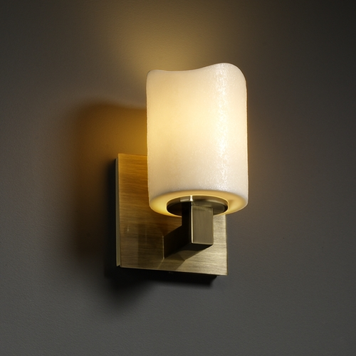 Justice Design Group Justice Design Group Candlearia Collection Sconce CNDL-8921-14-CREM-ABRS