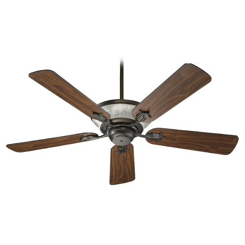 Quorum Lighting Quorum Lighting Roderick Oiled Bronze Ceiling Fan with Light 63525-86
