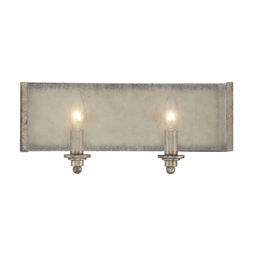 Savoy House Savoy House Lighting Chelsey Oxidized Silver Bathroom Light 8-430-2-128