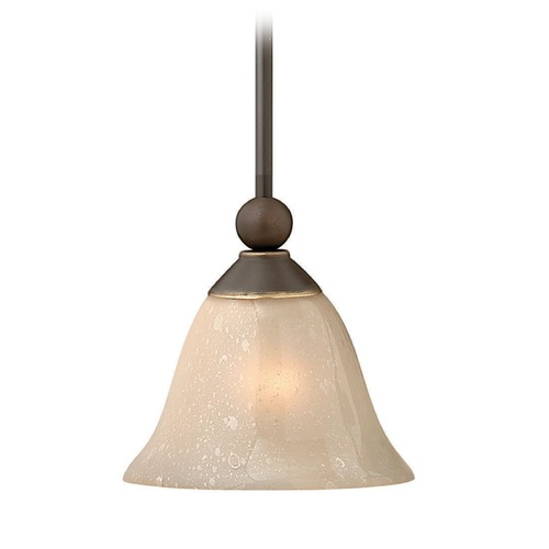 Hinkley Lighting Hinkley Lighting Bolla Olde Bronze Mini-Pendant Light with Urn Shade 4667OB-OP-GU24