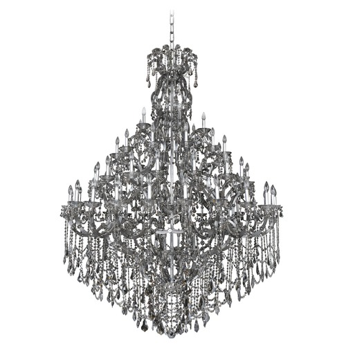 Allegri Lighting Allegri Brahms 4-Tier 66-Light Crystal Chandelier in Chrome 023450-010-FR006