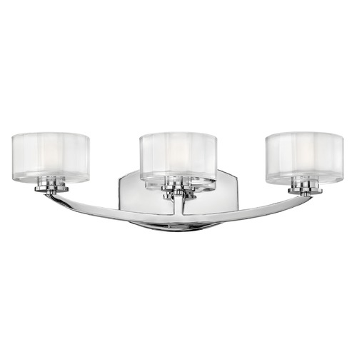 Hinkley Lighting Hinkley Lighting Meridian Chrome LED Bathroom Light 5593CM-LED