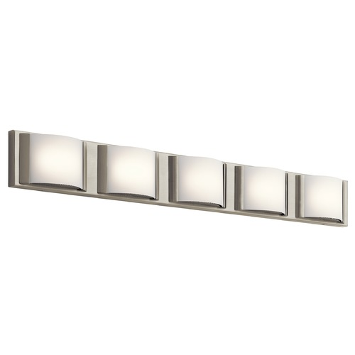 Elan Lighting Elan Lighting Bretto Brused Nickel LED Bathroom Light 83822