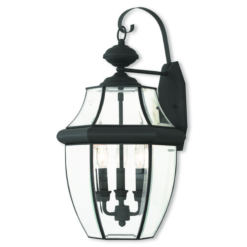 Livex Lighting Livex Lighting Monterey Black Outdoor Wall Light 20286-04
