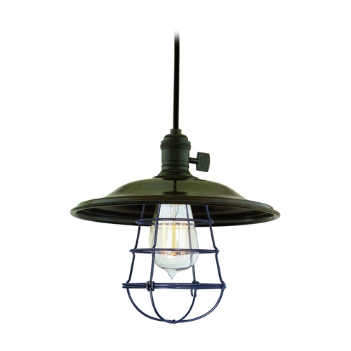 Hudson Valley Lighting Mini-Pendant Light 8001-OB-MS2-WG