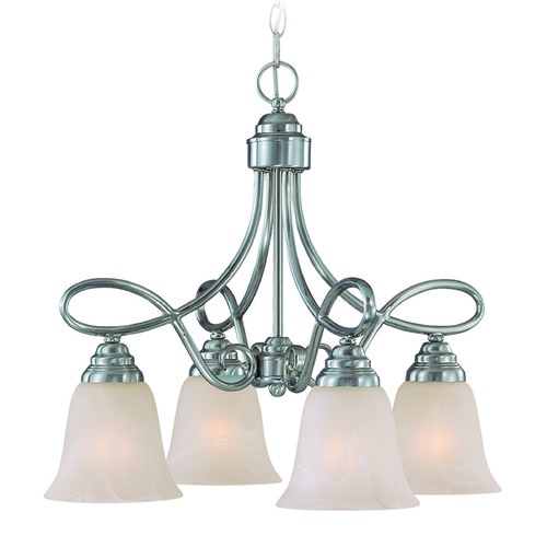 Jeremiah Lighting Jeremiah Cordova Satin Nickel Mini-Chandelier 25024-SN